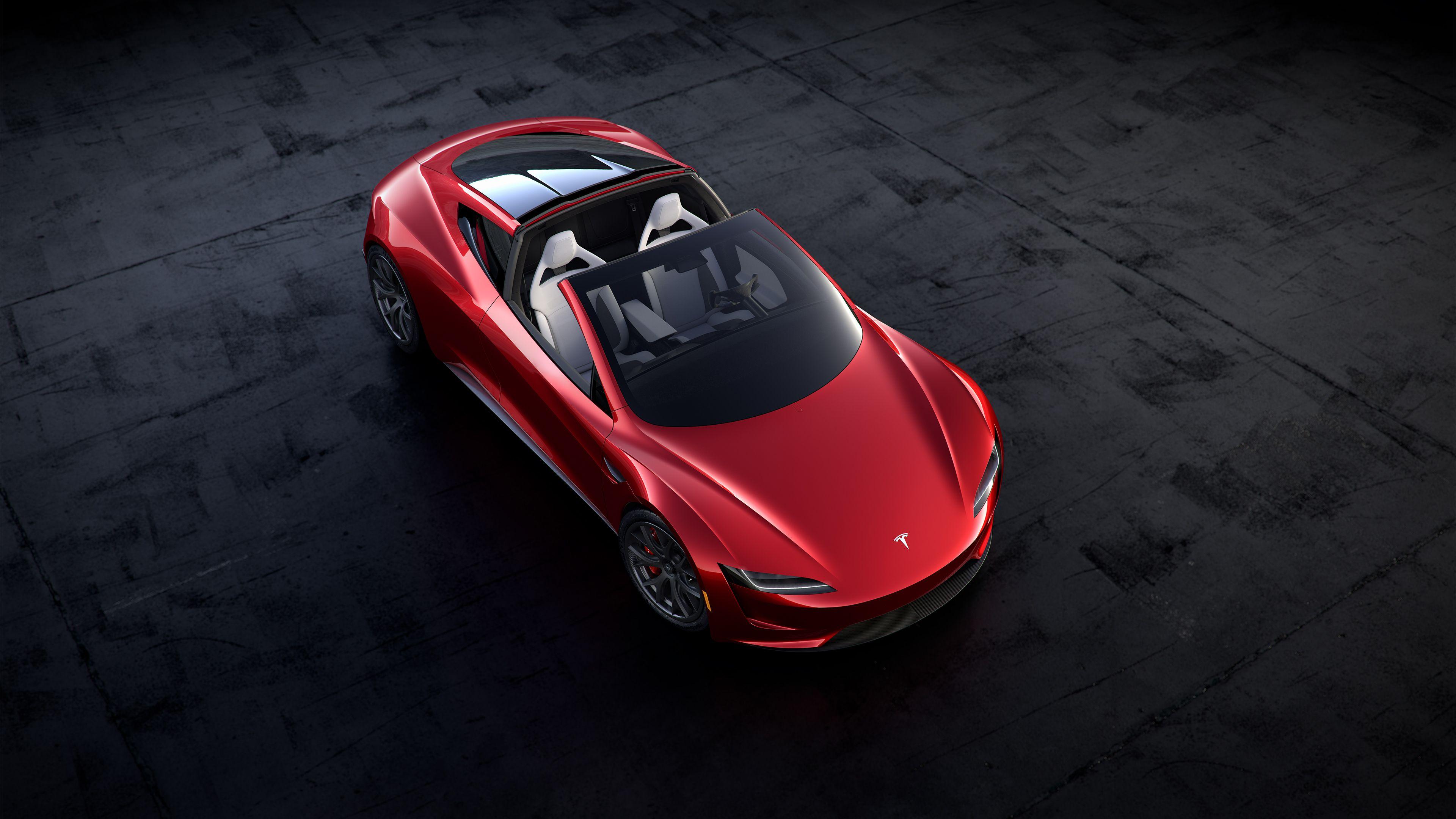Best Desktop 2020 2020 Tesla Roadster Desktop Backgrounds | Wallpaper | New tesla
