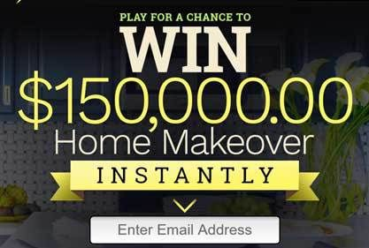 How do I enter for a chance to win Instant Play Sweepstakes – Home