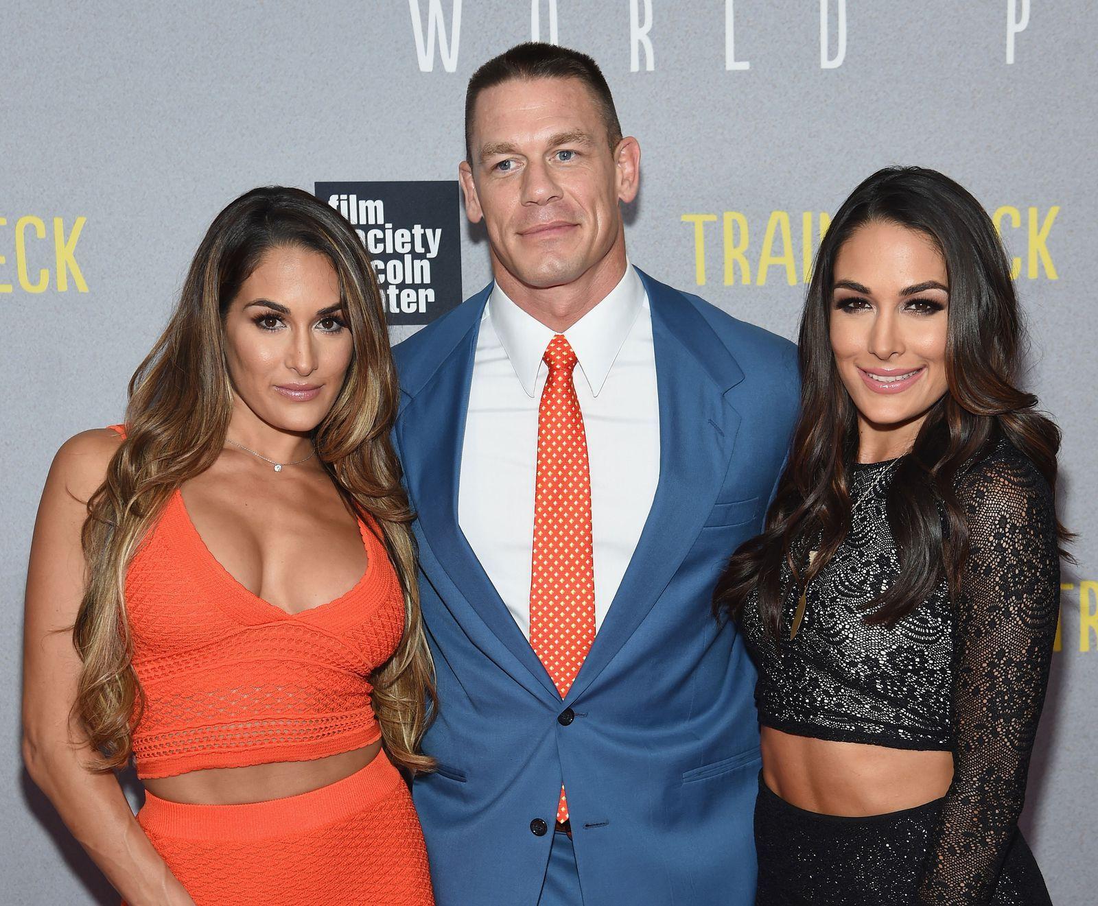 John Cena Said He S Willing To Have Surgery To Give Nikki Bella A Child John Cena And Nikki Bella Nikki And Brie Bella Nikki Bella