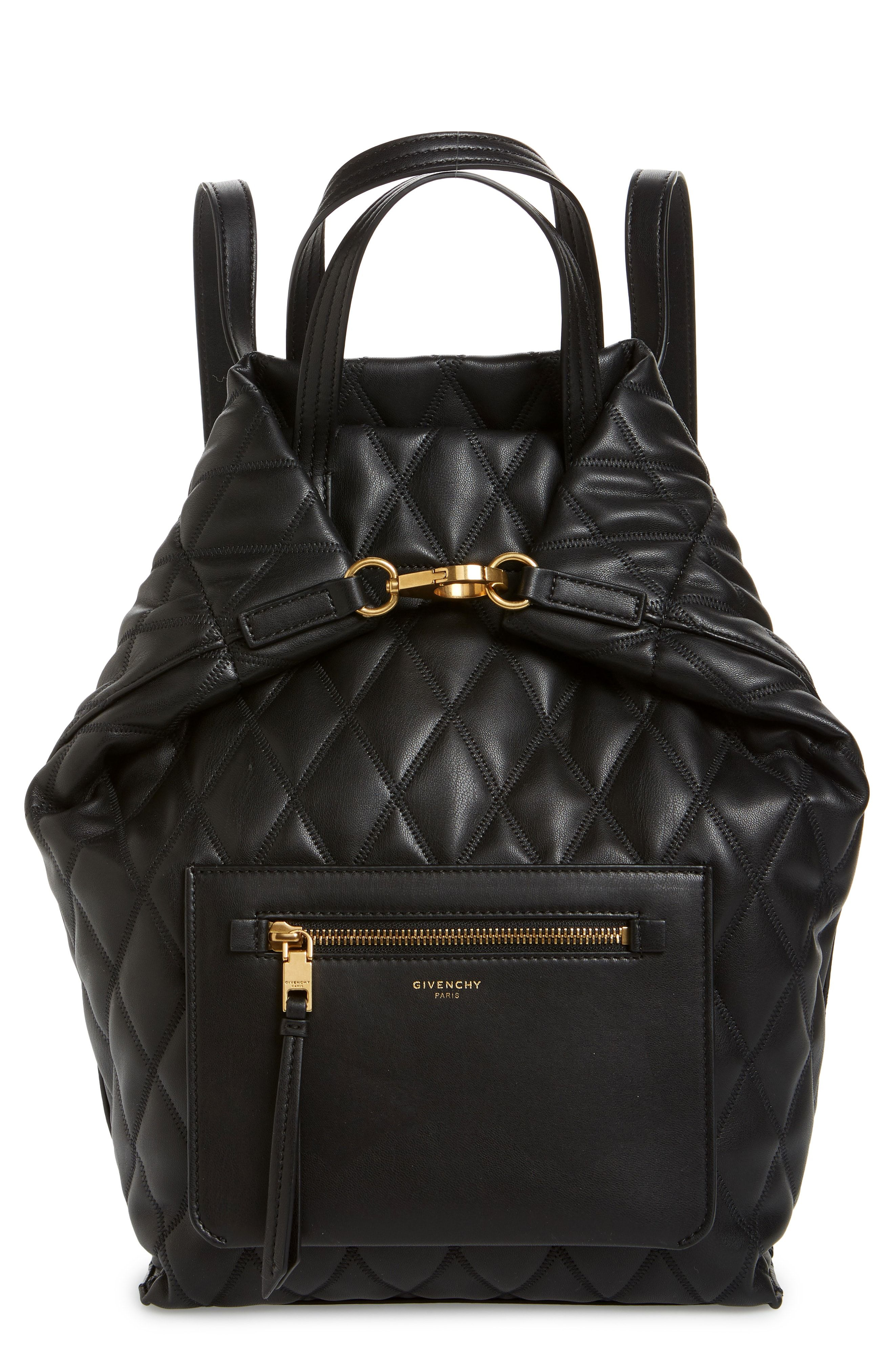 7f9dcee9ff75 Givenchy Duo Quilted Faux Leather Backpack available at  Nordstrom ...