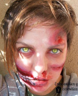 Reto Halloween Makeup - ZOMBIE Halloween Pinterest Halloween - zombie halloween ideas