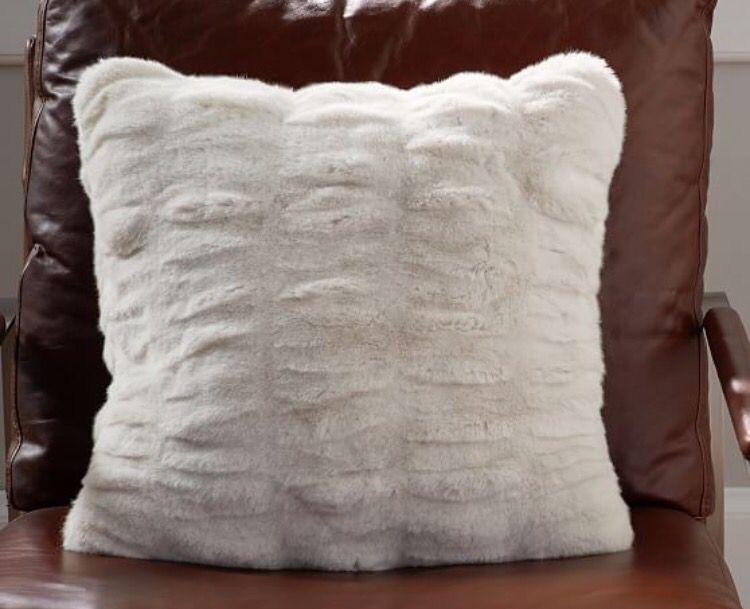 Fluffy soft white pillow