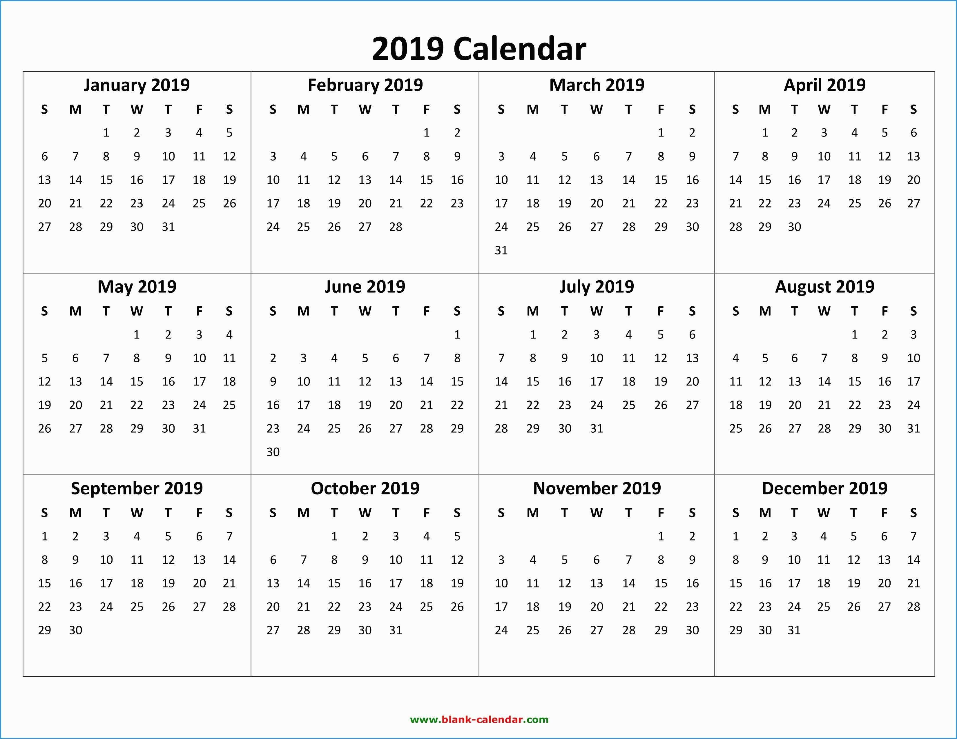 Creative To Publish Was A Printable Calendar Calendar 2019