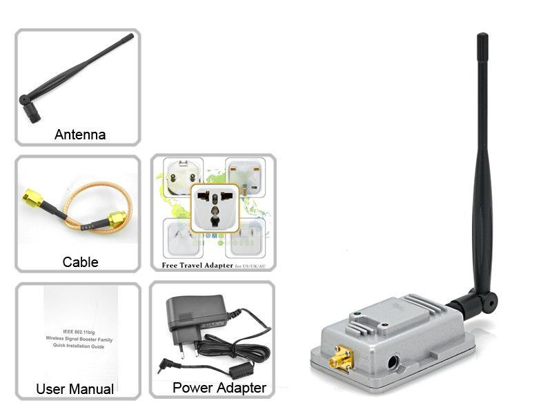 Long Range WiFi Signal Booster and Wireless Signal