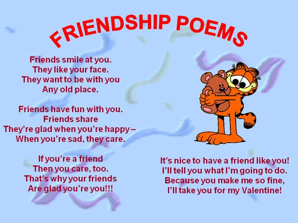 Friendship Poems For Friends | | friends | Pinterest | Friendship ...
