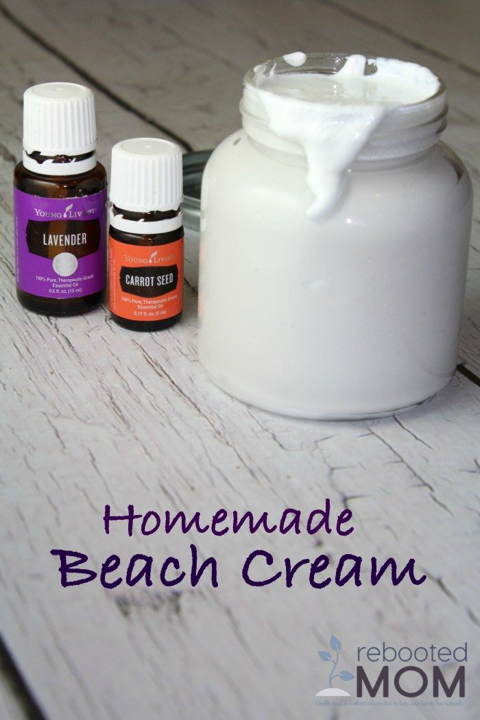 Ingredients:   1/2 C. Coconut Oil 25-30 drops Carrot Seed Essential Oil 12 drops Lavender Essential Oil 4 Tbsp Zinc Oxide