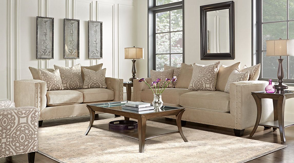 Best Affordable Classic Upholstered Living Rooms Rooms To Go 400 x 300