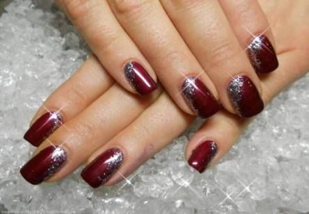 nails gel winter new years 24 ideas  new years nail art