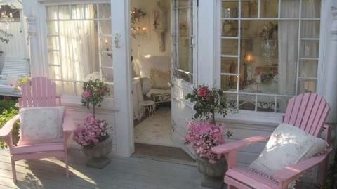 Pretty in Pink OUTDOOR ROOMS Pinterest