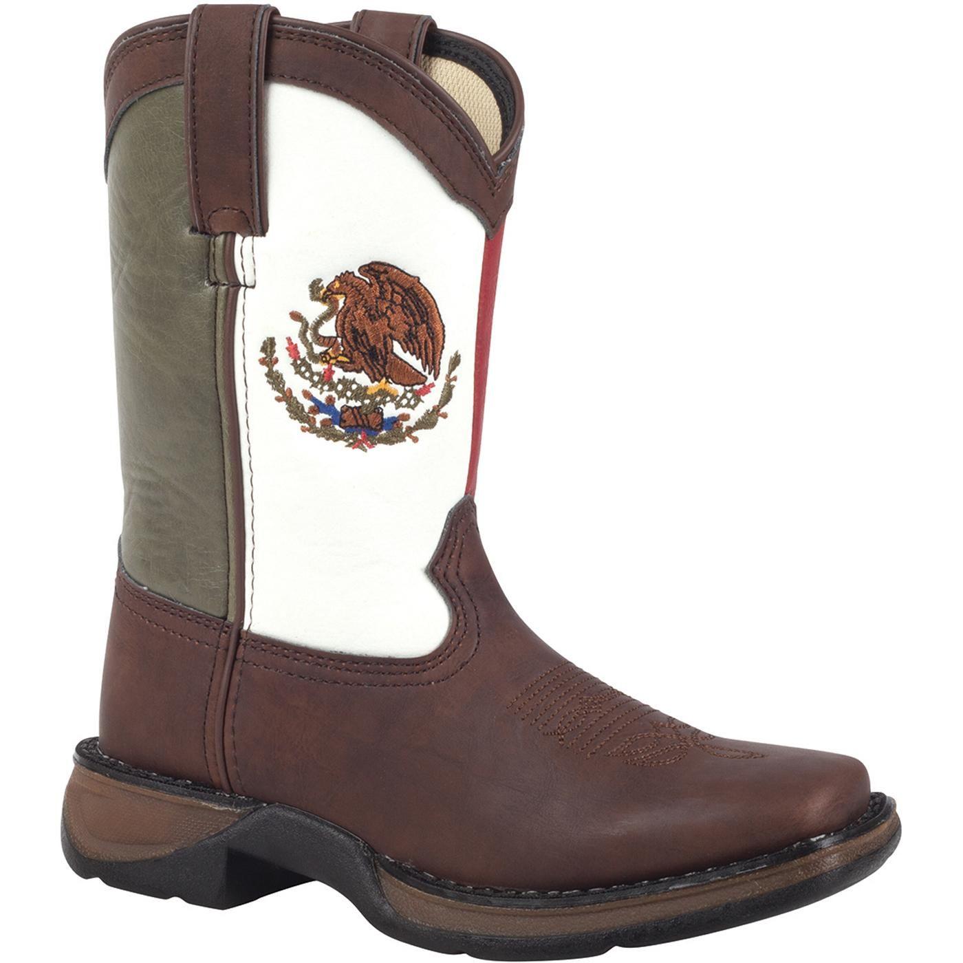 ddbd48e0203 Lil' Durango Mexican Flag Kid's Western Boots – Style #BT002 ...