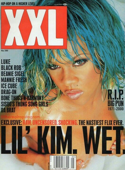 Lil Kim Xxl Cover Lil Kim Xxl Magazine Female Rappers