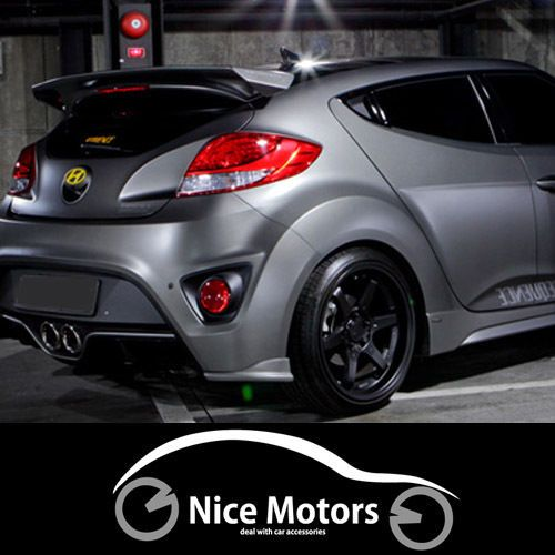 Used Hyundai Veloster Turbo For Sale: Sequence Devil Wing Rear Spoiler For Hyundai Veloster