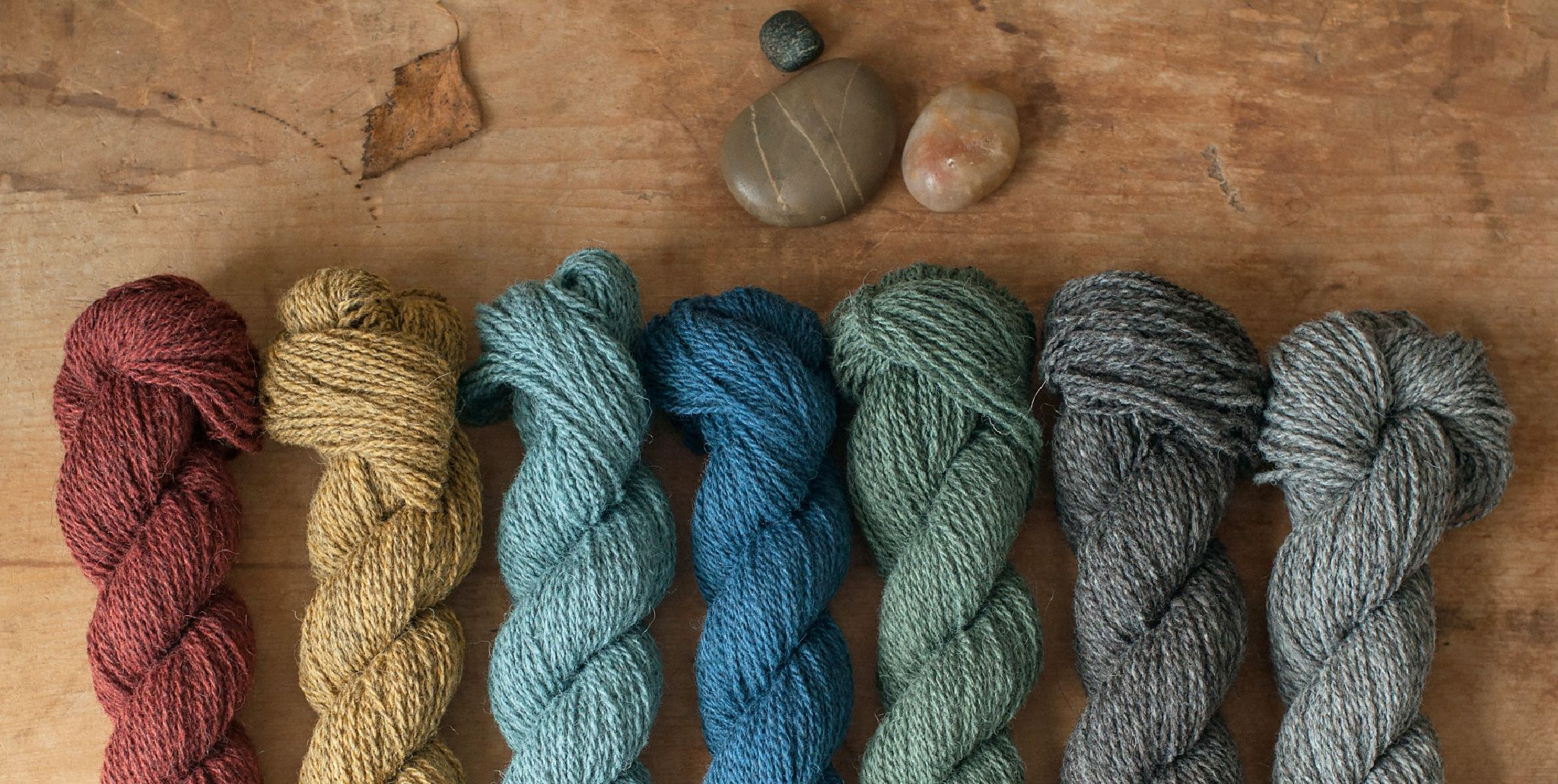 Wool, cotton and other natural yarns and pretty knitting patterns ...