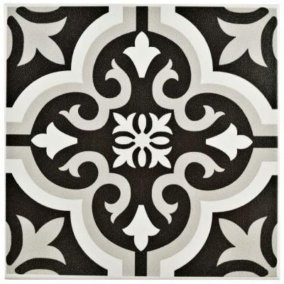 Merola Tile Braga Classic Encaustic 7 34 In X 7 34 In Ceramic