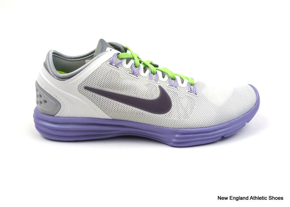 Nike women s Lunar Hyper Workout XT+ training shoes sneakers trainers White  Plum f417199d09