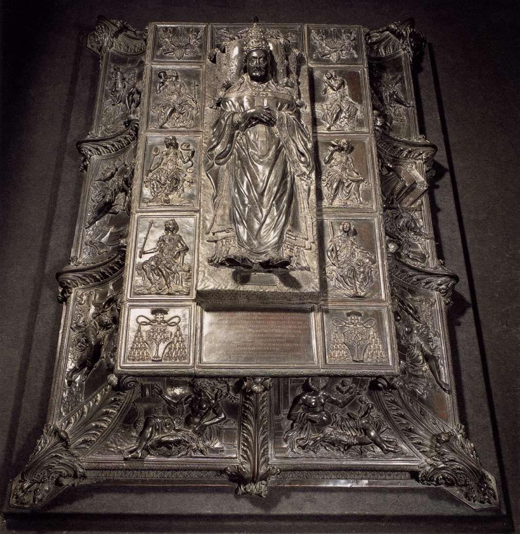 Antonio Pollaiuolo, Tomb of Sixtus IV, bronze, 148394