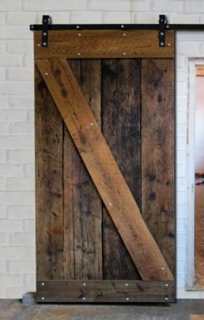 Www Loftdoors Com Makes This Exact Door Soooo Beautiful Rustic Reclaimed Wood Sliding Door Ev Bark Dam Hanay Kapilar Odun Ve Ev Dekoru