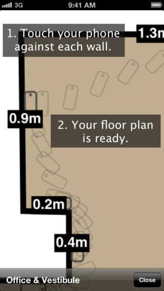 roomscan the app that draws floor plans by itself technology