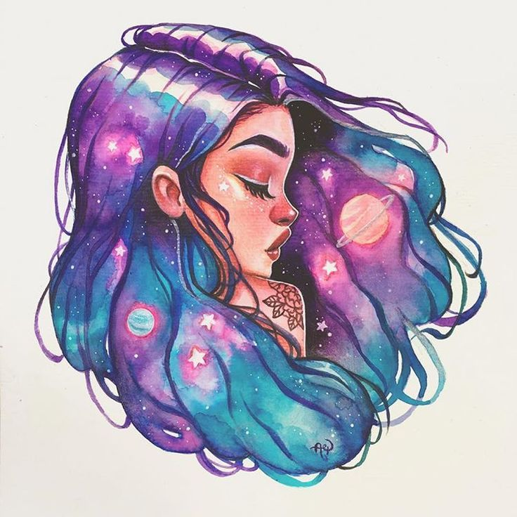 ✨Universe✨ . . #galaxy #galaxyhair #sereia #gi... - #dibujo #Galaxy #galaxyhair #gi #sereia #Universe #mermaid