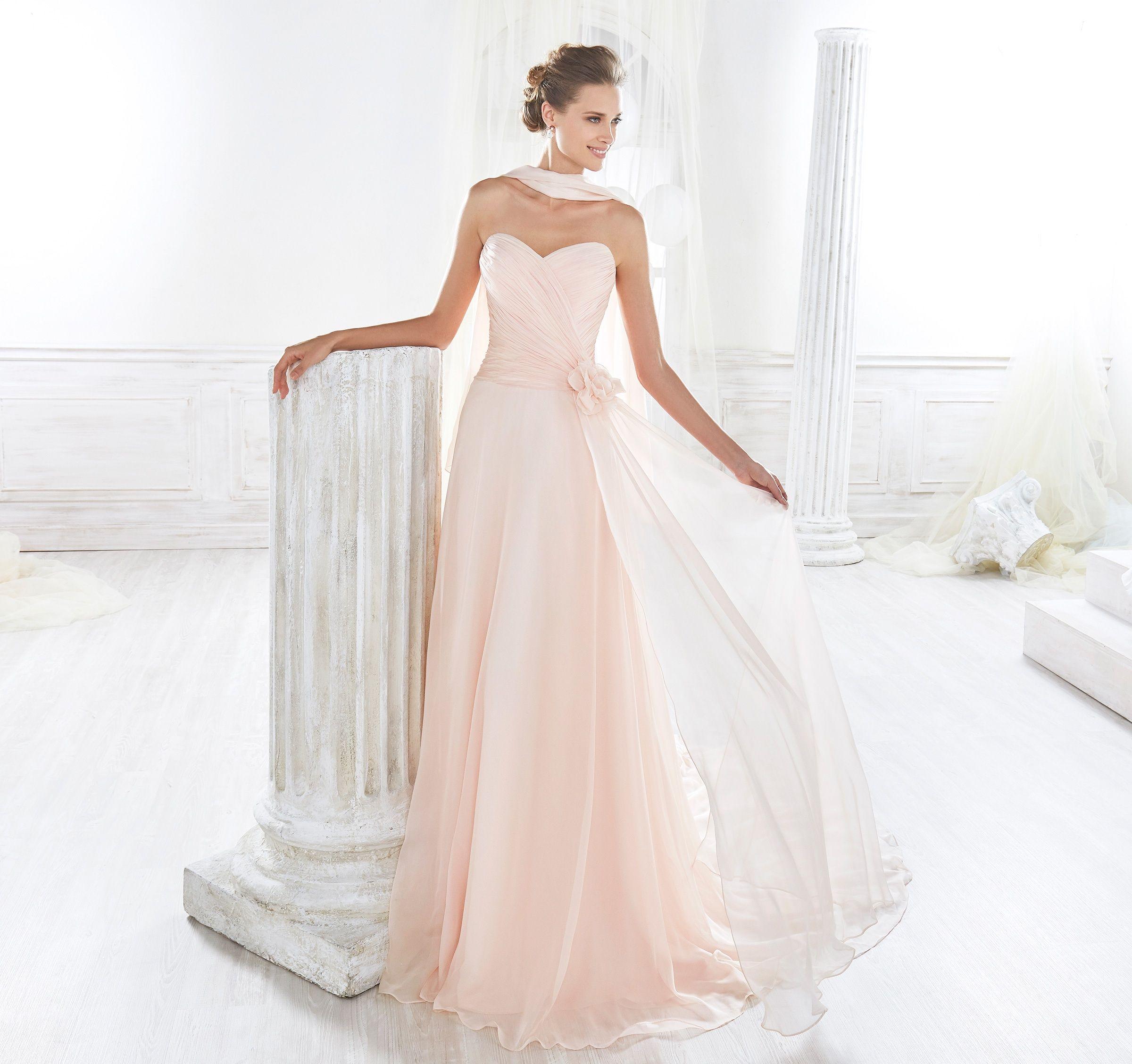 Vestiti Da Sposa Collezione 2018.Moda Sposa 2018 Collezione Nicole Niab18123 Abito Da Sposa