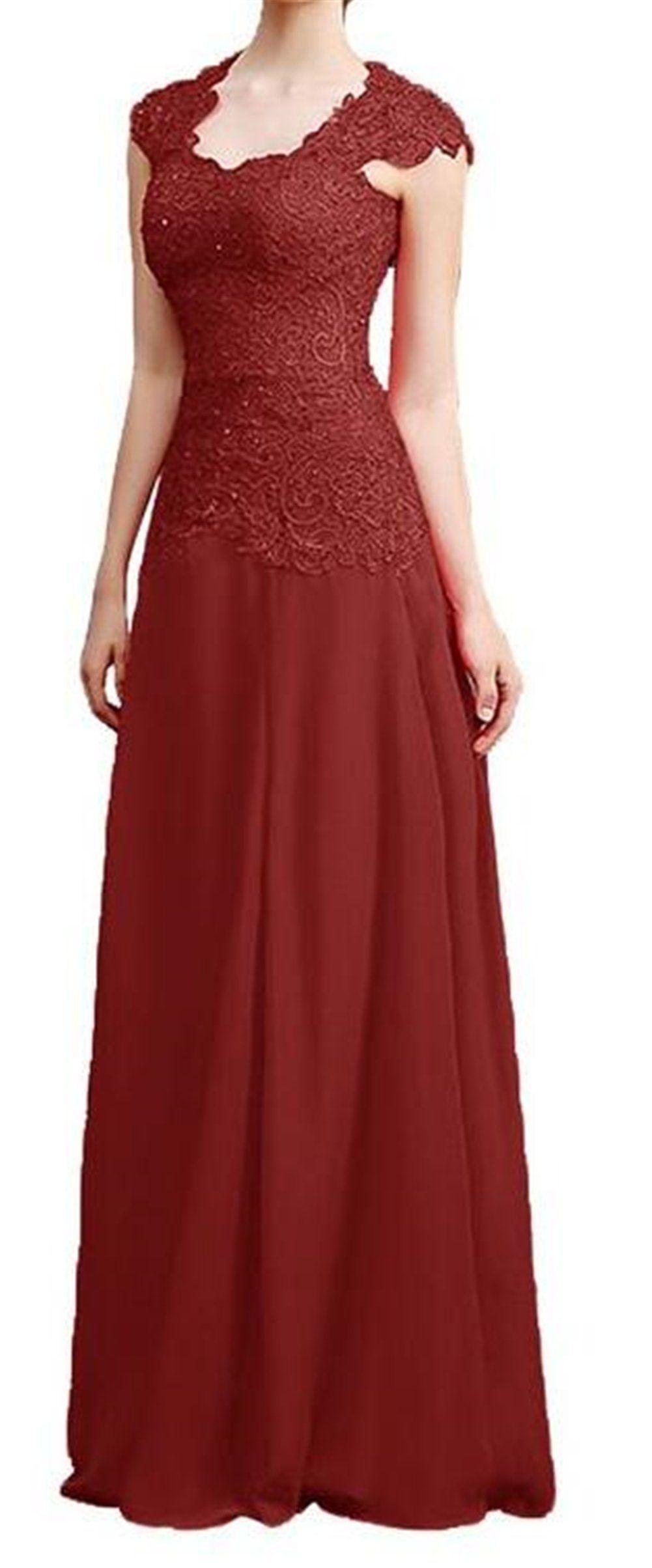 Endofjune long bridesmaid scoop neck lace prom dress with cap