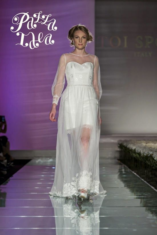 Abito da sposa manica lunga, Toi Spose 2015 #weddingdress #bride