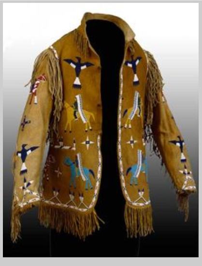 Ghost Dance Native American Ghost Jacket Style