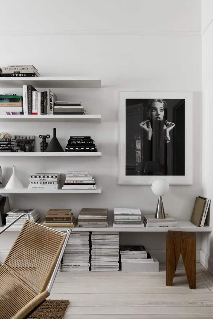 Photo of Therese Sennerholt's Soft Monochrome Stockholm Apartment — THE NORDROOM