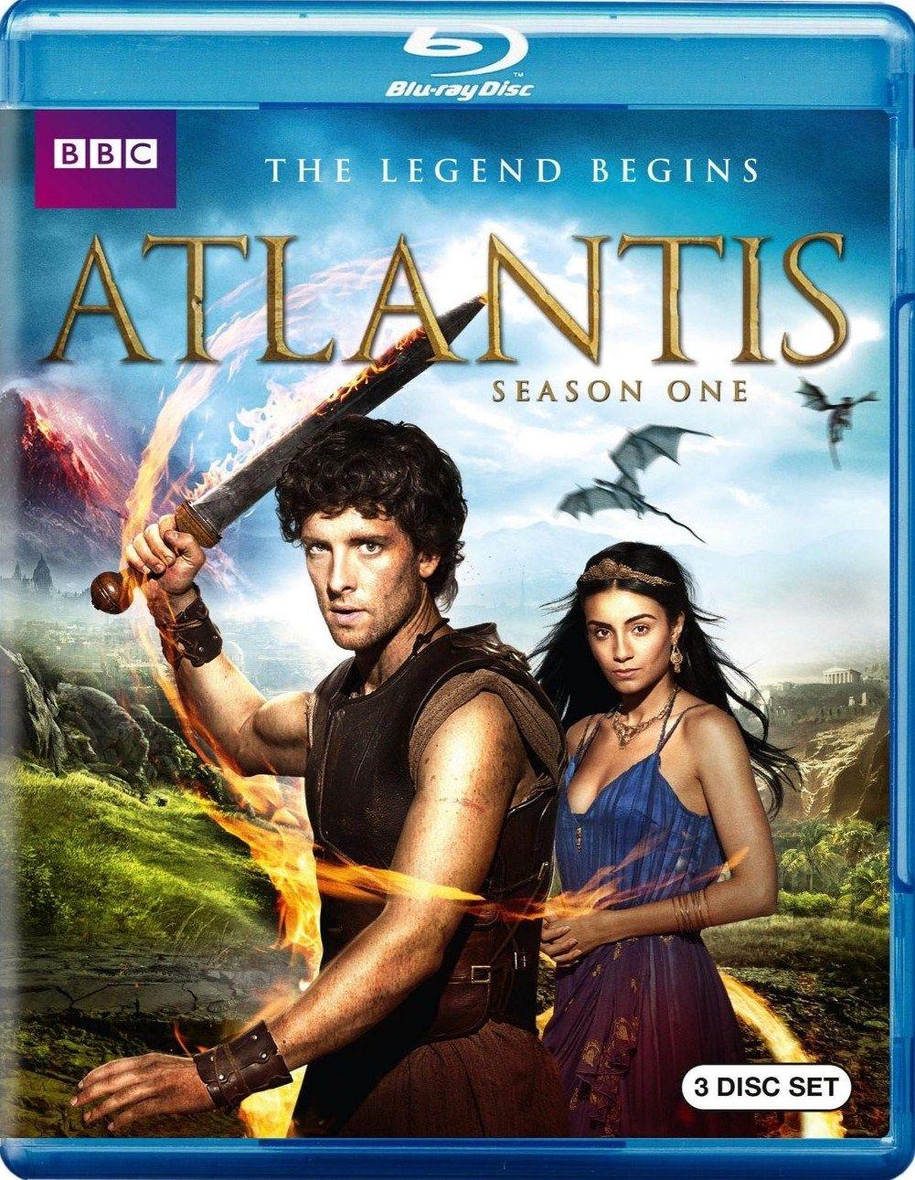 Atlantis Season One (2013) Bluray Review Let's Get