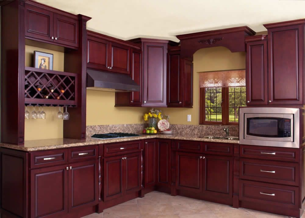 Fx Cabinets Warehouse Mahogany Bay Http Www Cabinetswarehouse Com Wood Cabinet Mc Mahoganybay Html Kitchen Design Decor Kitchen Design Kitchen Cabinets