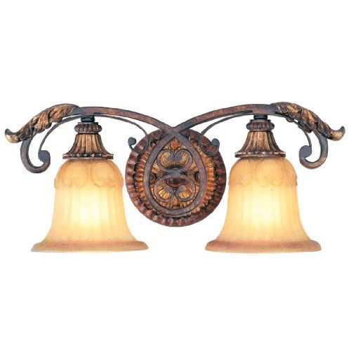 Best Bathroom Light Fixtures Livex Lighting Villa Verona - Bathroom light fixtures 2 lights