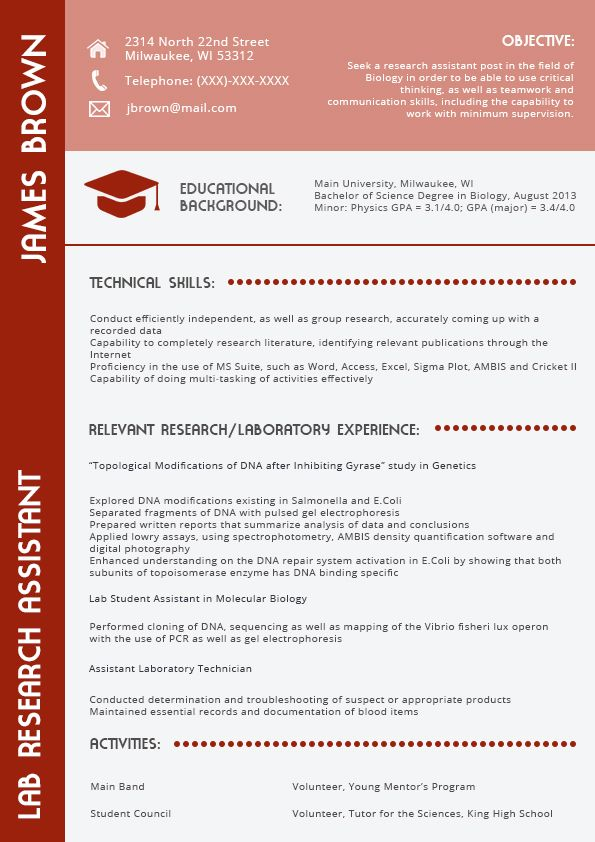 This Sample Presentation Attracts The Attention The Top Tricks Of The 2016 Cv Format The Cv Has To Be Capable To Impar Resume Format Best Resume Format Resume