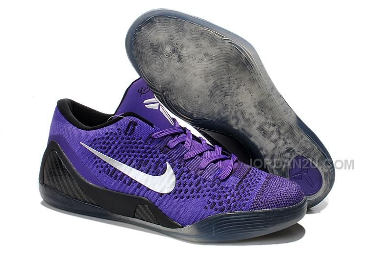 The cheap Authentic Kobe 9 Elite Low \u0027Hyper Grape\u0027 White-Cave Purple Shoes  factory store are awesome pair of shoes but it seems the super high top  design ...