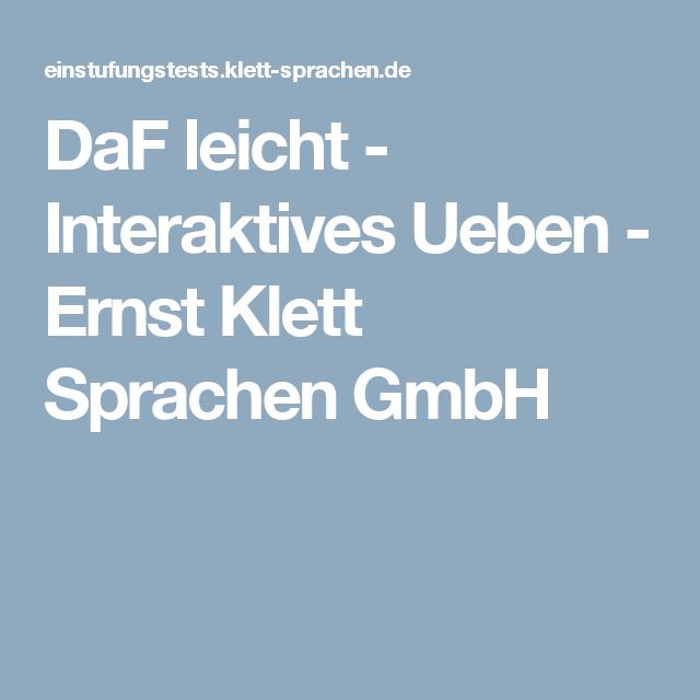 a1 a2 daf leicht interaktives ueben ernst klett sprachen gmbh a1 tipps deutsch ben. Black Bedroom Furniture Sets. Home Design Ideas