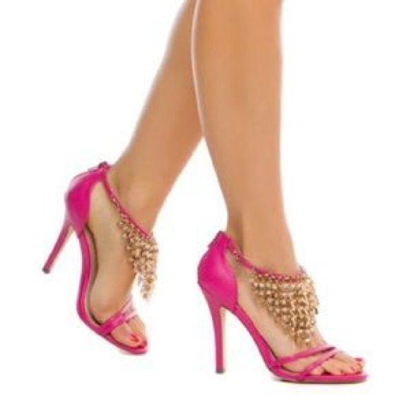 Shoe Dazzle Hot Pink Shantel Stiletto Shoe Dazzle Hot Pink Shantel Stiletto Shoe Dazzle Shoes