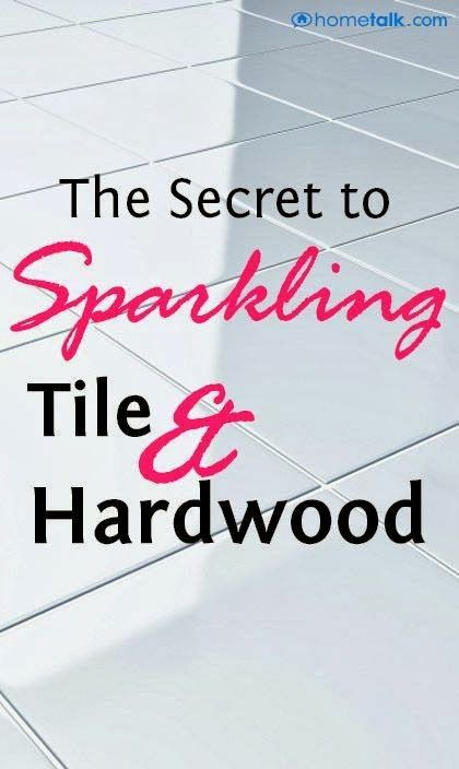 Sparkling Tile And Hardwood DIY Tutorial | Lots of good tips..Please Repin