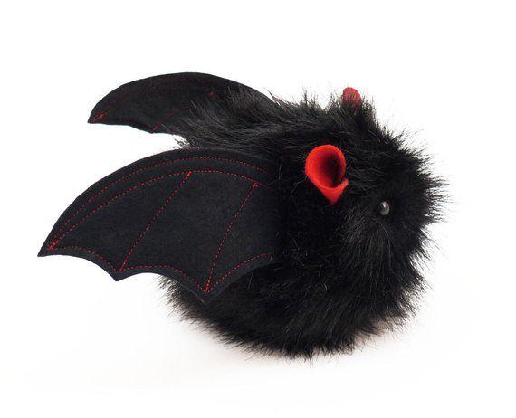 Stuffed Bat Stuffed Animal Cute Plush Toy Kawaii Plushie Vlad The