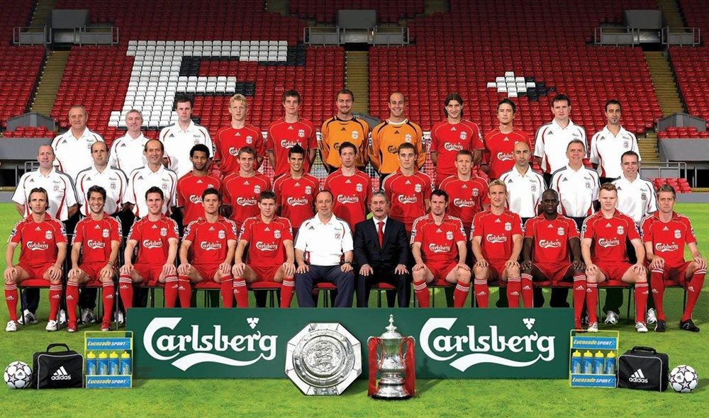 Squad picture for the 2006-2007 season - LFChistory - Stats
