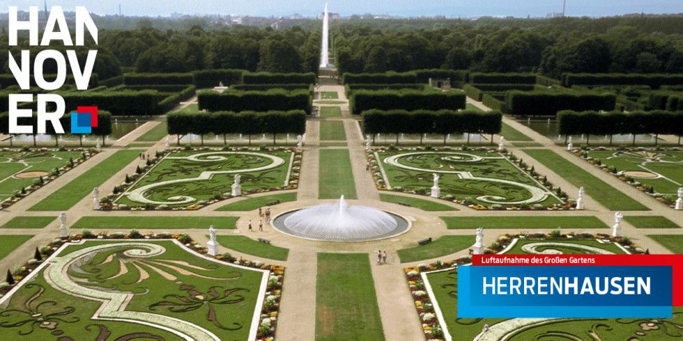 The Famous Gardens At The Herrenhausen Palace In Hanover Gernany The Palace Is Now A Museum Grosser Garten Hannover Herrin