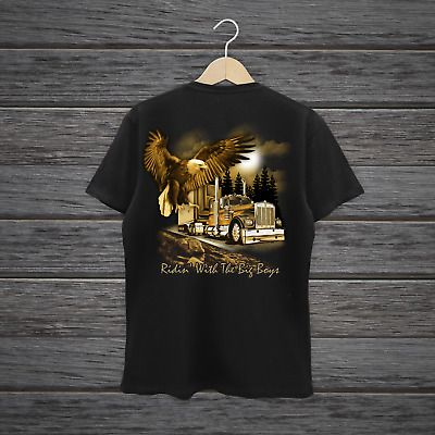 Riding With The Big Boys Men's Short Sleeve T-shirt7 #fashion #clothing #shoes #accessories #men #mensclothing (ebay link)