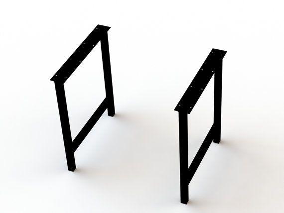 4 Pack Metal Iron Hairpin Legs Desk Legs Industrial Dining Table Legs Deck Feets