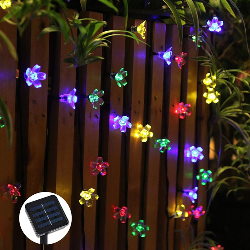 Cherry pendant led solar string lights outdoor garden christmas cherry pendant led solar string lights outdoor garden christmas party festival decorative lightings 7m 50leds mozeypictures Image collections