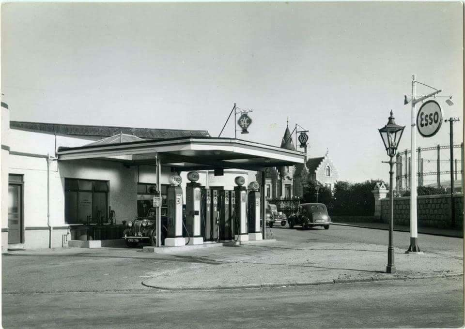 Pin by David on Oldgas Petrol station, Gas station