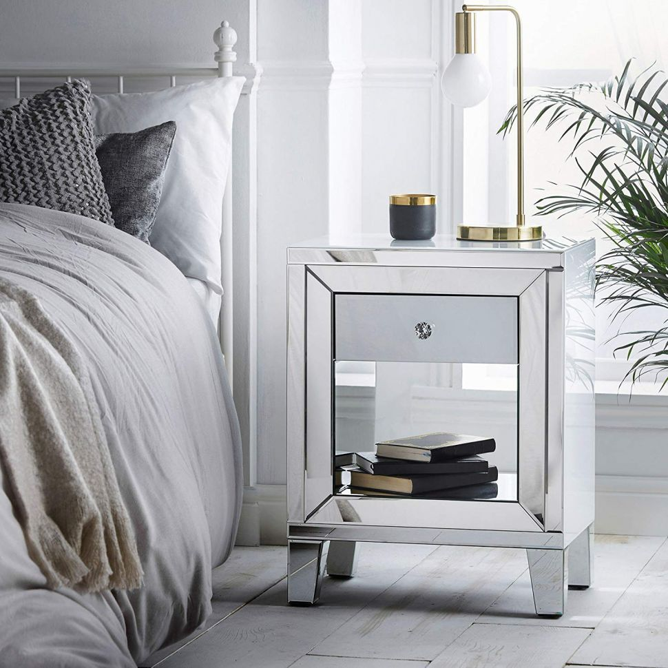 Bedroom Side Table With Mirror Marvelous Top 10 Charming Bedside Tables