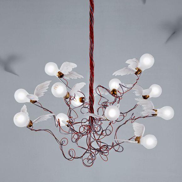 ingo maurer birdie pendant lamp stuff things. Black Bedroom Furniture Sets. Home Design Ideas