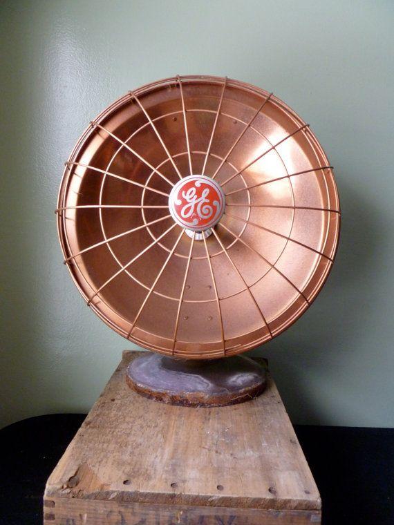 vintage general electric ge heater radiant heat fan. Black Bedroom Furniture Sets. Home Design Ideas