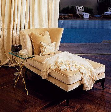 Donghia Geneva Chaise Modern Day Beds And Chaises Phoenix Jamie Herzlinger Chaise Bed Daybed
