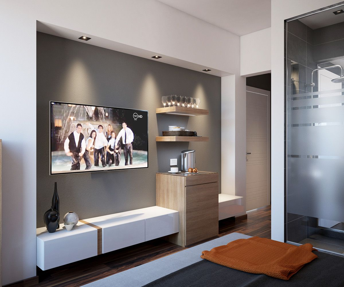 Master Bedroom Tv Wall 4 luxury bedrooms with unique wall details | Ιδέες για το σπίτι