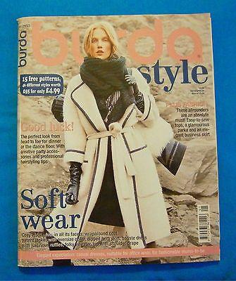 MAGAZINE BURDA English January 2015 Monthly Hobbies & Crafts Sewing Style