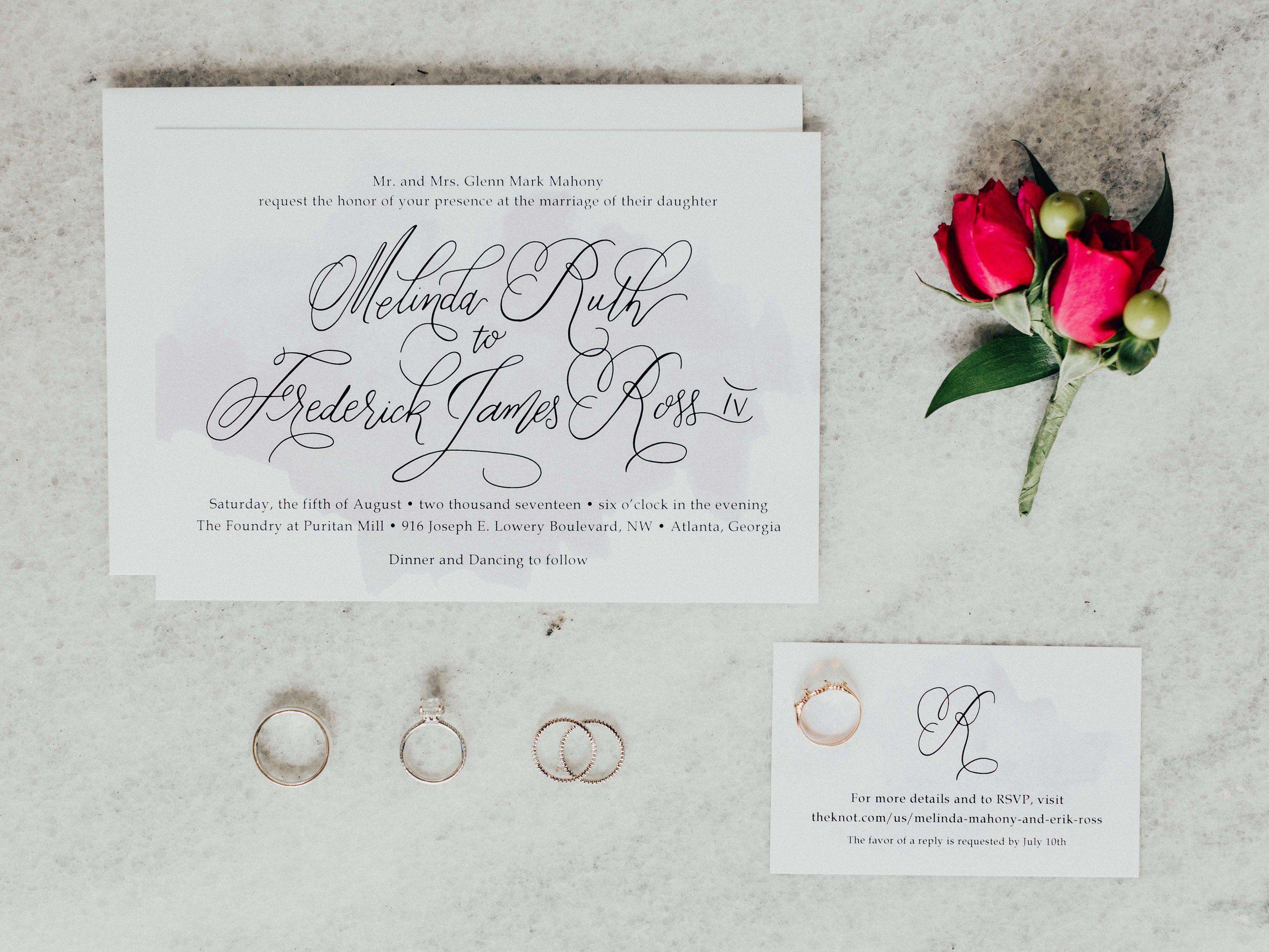 wedding invitations atlanta%0A Rustic Wedding in Atlanta
